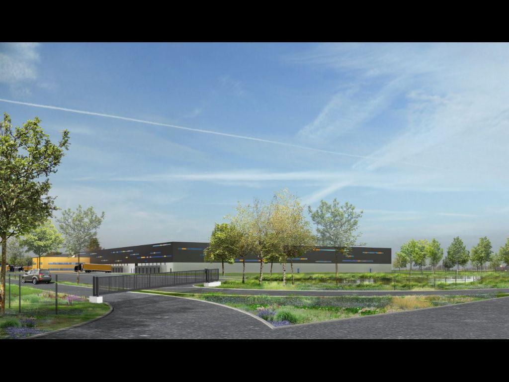 Idec accompagne carrefour dans la construction d un entrep t de 63 000 m aulnay sous bois 93 for Construction bois 93